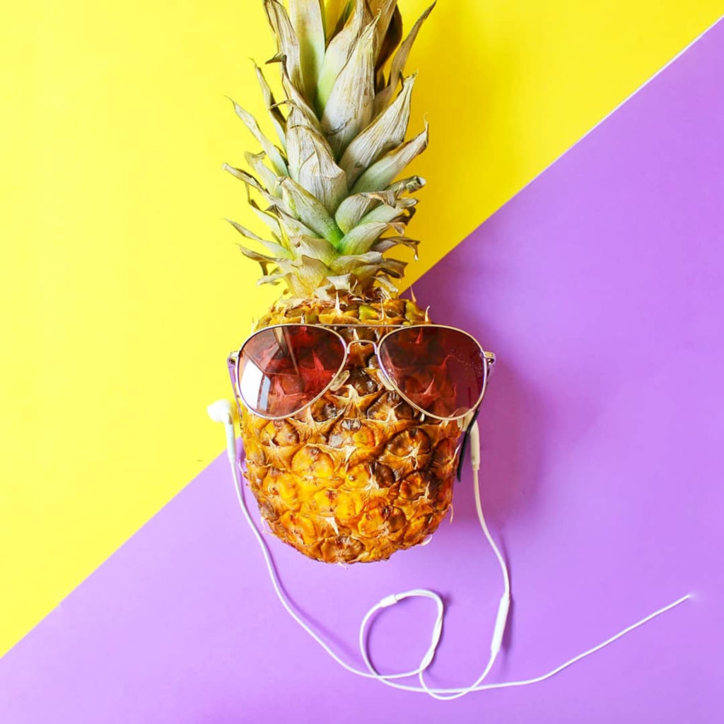 Pineapple for Skin, Hair and Health!