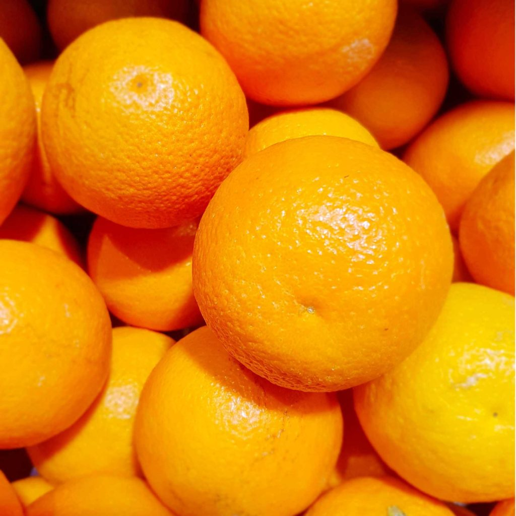 Oranges for skin and hair