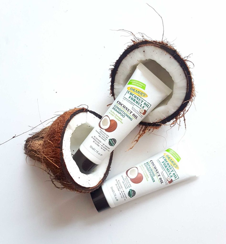Review for Palmers Coconut Shampoo and Conditioner