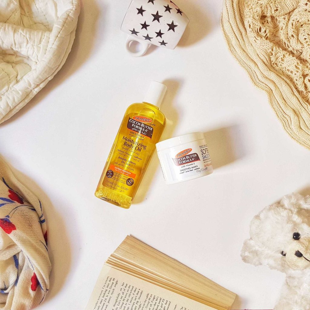 Skincare in winters with Palmers