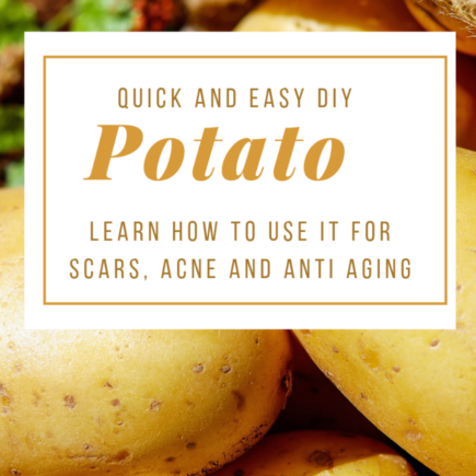 Potato for skincare