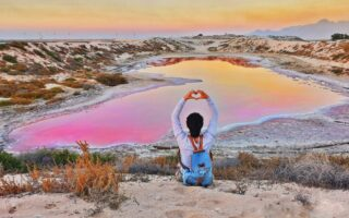 Salt Lakes in the UAE
