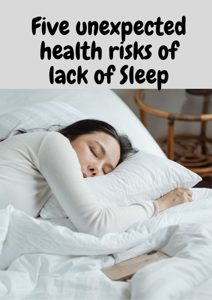 Five unexpected health risks of lack of Sleep